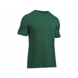 Under Armour CC Left Chest Lockup T-Shirts, GREEN, SIZE XS