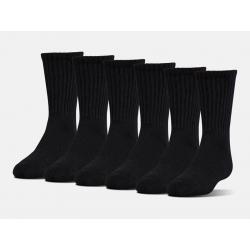 Pánské ponožky Under Armour Charged Cotton 2.0 Crew 6-Pack, velikost M
