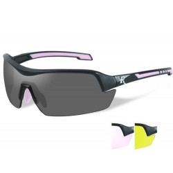 Goggles REMINGTON FEMALE 3 lens kit/Matte black frame