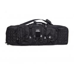 Airsoftrifle case, Black, 105x32 cm