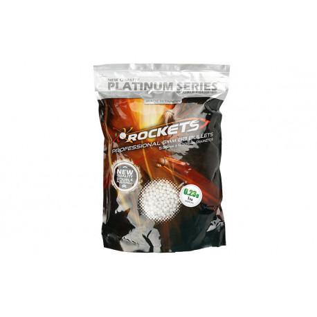 Rockets Platinum Series 0.23g 4300bb pellets