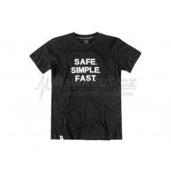 Tričko Safe Simple Fast (Glock), velikost M