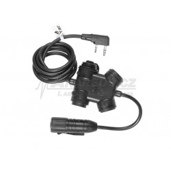 zSLX Clarus PTT Kenwood Connector (Z-Tactical)