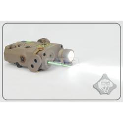 FMA PEQ LA5 Upgrade Version V2 LED White light + Green laser with IR Lenses DE
