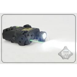 FMA PEQ LA5 Upgrade Version V2 LED White light + Green laser with IR Lenses BK