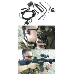 Throat Microphone Gen.II -KENWOOD Type