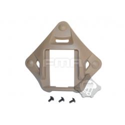 NV základna pro montáž nočního vidění na FAST helmu - písková