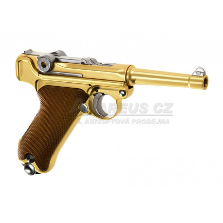 WE Full Metal P08 ( 4 Inch ) - GOLD