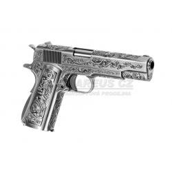 Colt M1911A1, Nikl s rytím - celokov, blowback