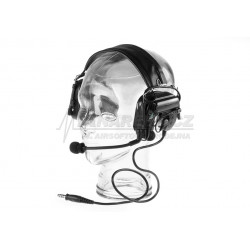 Comtac IV Headset Military Standard Plug - BLACK