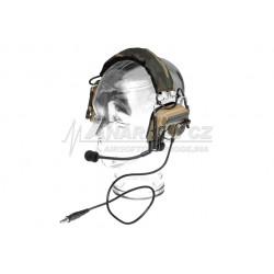 Comtac IV Headset Military Standard Plug - Dark Earth