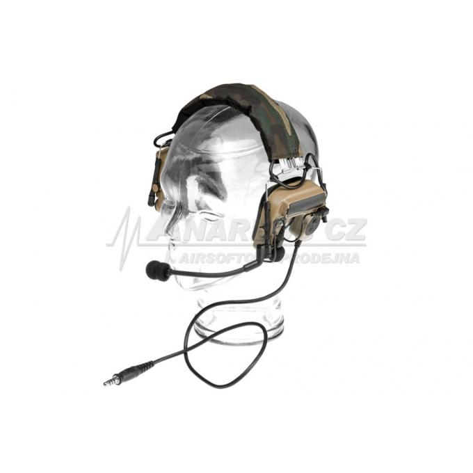 Comtac IV Headset Military Standard Plug - Dark Earth