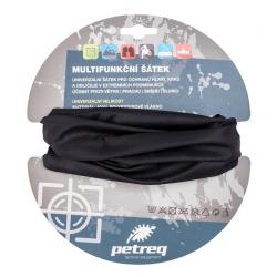 Šátek multifunkční Petreq - černý