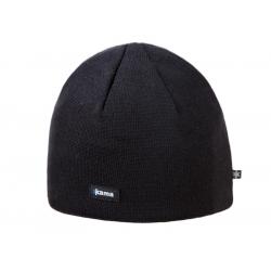 Merino Kama knitted beanie A02, SIZE M - black