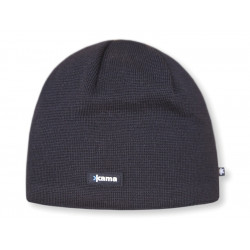 Merino Kama knitted beanie AW19 - Windstopper SoftShell - black