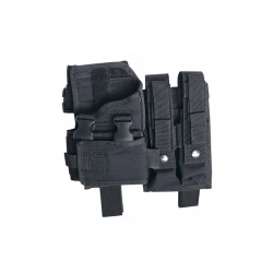 Thigh holster, MP5K-M11-MP7-Vz61, adjust., black