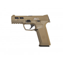 XAE pistol gas blow back - TAN