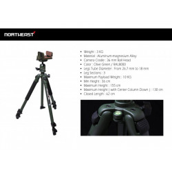 Northeast Jaws Saddle with Heavy Duty Tripod ( OG )