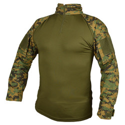 Shirt UBAC tactical DIGITAL WOODLAND /MARPAT/, SIZE XS