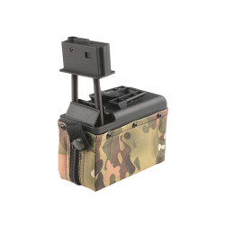 M249 Box Mag 1500rds multicam (A&K)