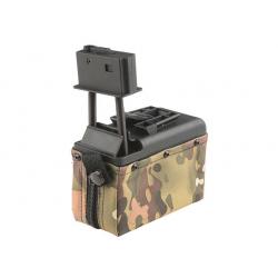 Zásobník pro M249 1500 ran, elektrický, multicam