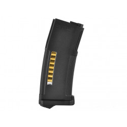PTS Enhanced Polymer Mid-Capa Magazine for M4 / M16 AEG ( Black / 150Rds )