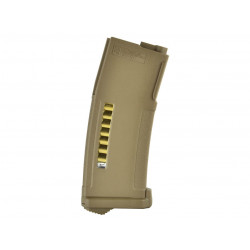 PTS Enhanced Polymer Mid-Capa Magazine for M4 / M16 AEG ( Dark Earth / 150Rds )