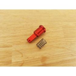 CNC doražeč závěru AR15 - A (červený)