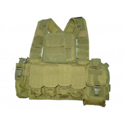 KJ.Claw RRV plate carrier w/pouches (coyote)