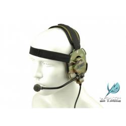 Taktický headset Elite III, multicam