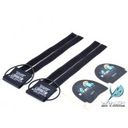 Suchý zip pro headsety Sordin na taktické helmy - černý