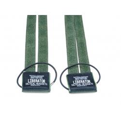 Suchý zip pro headsety Sordin na taktické helmy - olivový