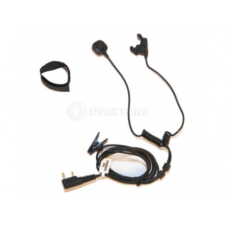 Bone Conduction Headset with finger PTT (Ken)