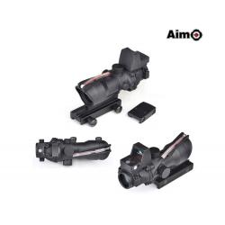 Optika ACOG 4x32 se světlovodným vláknem + RMR kolimátorem