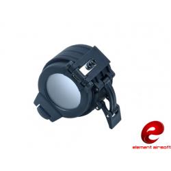 Krytka pro svítilny s průměrem 42mm, černá
