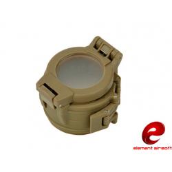 Krytka pro svítilny s průměrem 42mm, písková