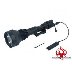 LED svítilna M971 verze Super Bright - černá
