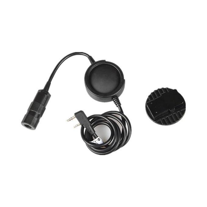 ZTCI Tactical PTT(New headset plug hole) (Ken)