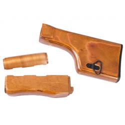 RPK wooden handguard and stock