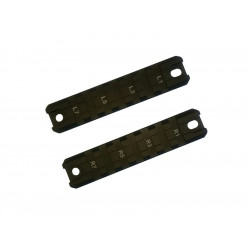 G36 rail set (2 pcs) (Dark  Brown)