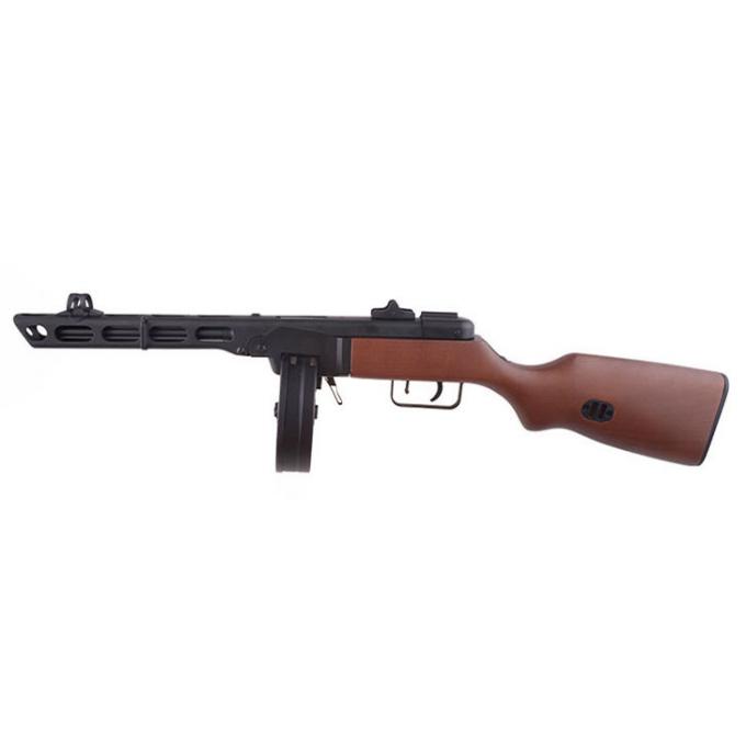 PPSH submachinegun replica - real wood