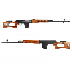 Spring action SVD Dragunov, up to 560FPS - real wood
