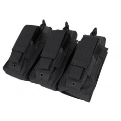 Triple Kangaroo Mag Pouch 3xM16+3xM9 Black