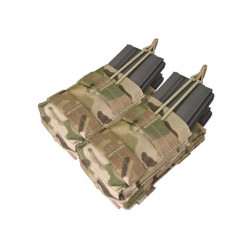 Double Stacker Open-Top M4 Mag Pouch Multicam