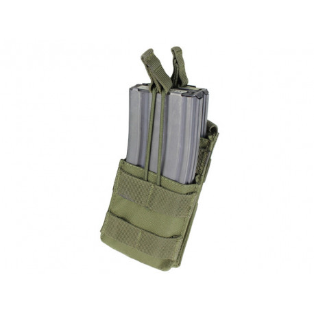 Single 2xM4/2xM16 Open-Top Stacker Mag Pouch OD