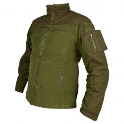 COMBAT Fleece Jacket olive, size M
