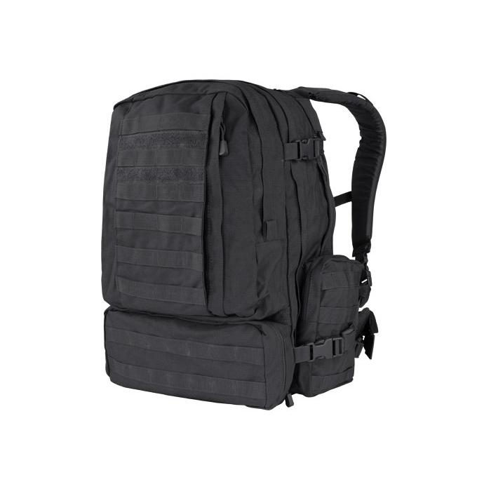 Backpack MOLLE 3-DAYS ASSAULT - BLACK