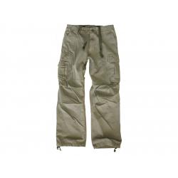 LEO KÖHLER kalhoty RIFKEMAN, olivové, velikost S