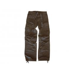 LEO KÖHLER kalhoty RIFKEMAN, černé, velikost S