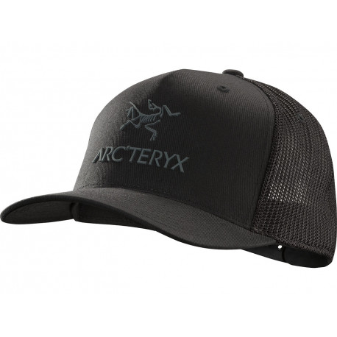 Arc\'teryx Logo Trucker Hat, black